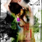 Composition of love 1-2011-digitalt kollage-70ggr100cm